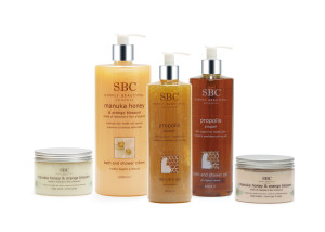 Propolis and Manuka Honey Collection_White Bkg