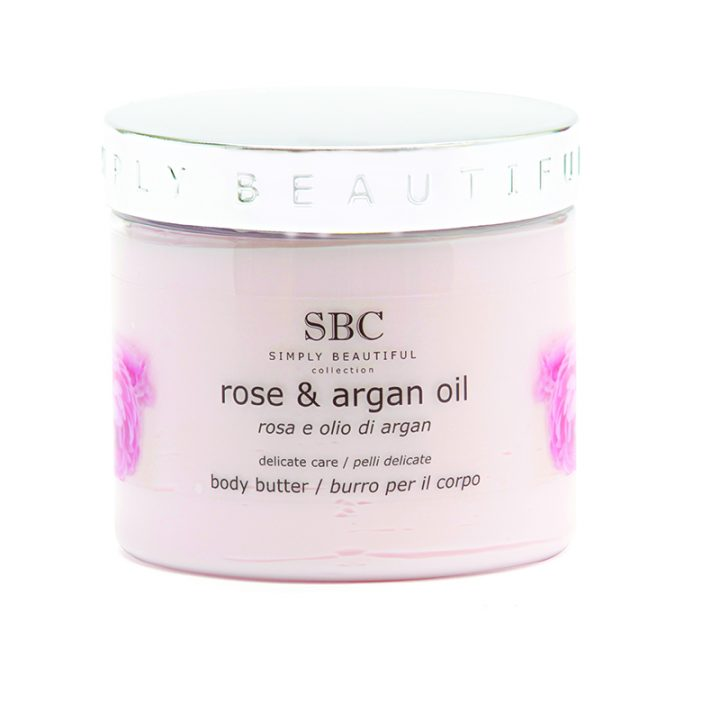 Rose and Argan Oil Body Butter_450ml_LR